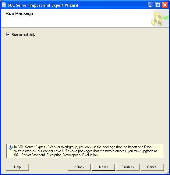 SQL Server конвертування база даних