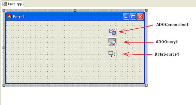C++ Builder головна форма програми