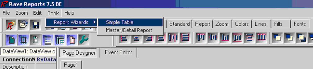 C++ Builder Rave Report мастер отчет