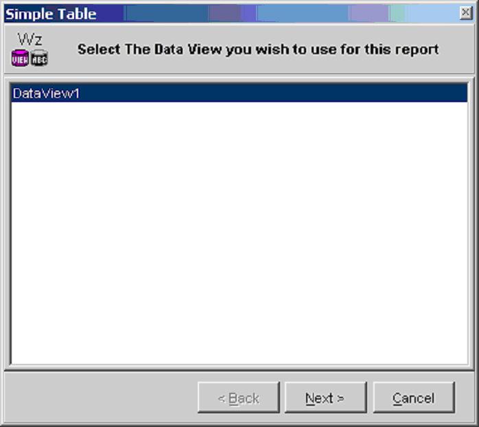 отчет Rave Report элемент просмотра данных