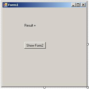 Windows Forms C# головна форма