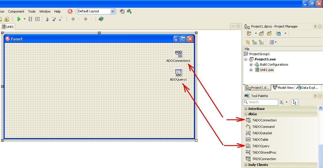 011 – Delphi  Development an application which forms SQL