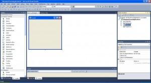 C# Windows Forms Application форма приложение