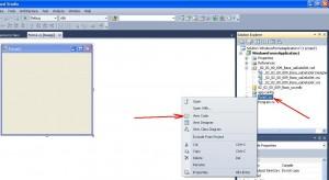 Visual Studio режим программного кода