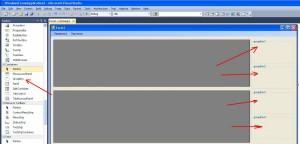 MS Visual Studio элемент управления GroupBox