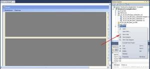 C# Windows Forms команда переходу до перегляду програмного коду