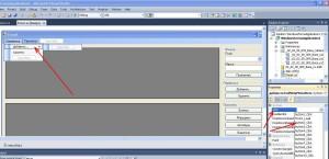 MS Visual Studio метод событие команда