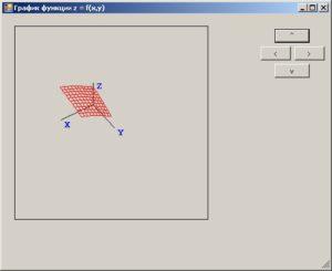 C# Windows Form Рисование 3D графика выполнение программы