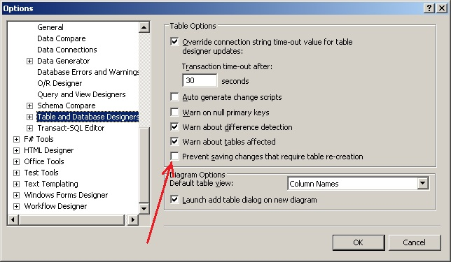 Visual Studio saving changes