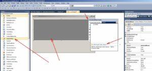 MS Visual Studio Елемент управління DataGridView