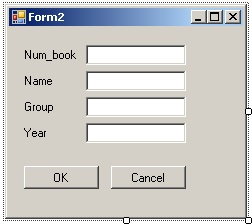 C# Windows Forms Вид форма