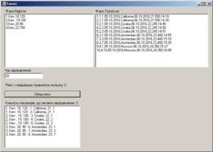 C# - Windows Forms. Результат роботи програми