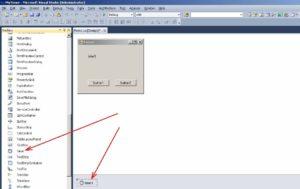 C# Windows Forms елемент управління Timer форма
