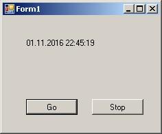 C# Windows Forms елемент управління Timer