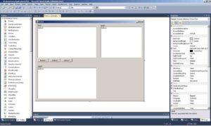 C#. Шаблон Windows Forms Application. Основна форма програми