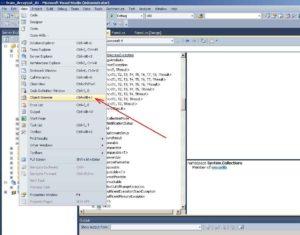 Microsoft Visual Studio. Виклик утиліти Object Browser