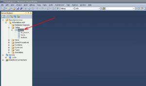 SQL Server таблица рисунок