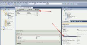 SQL Server свойство таблица
