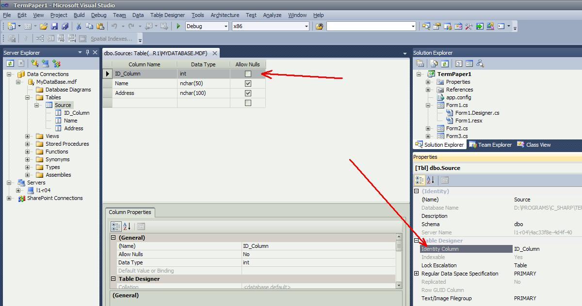 Creating a counter field in the MS SQL Server database table | BestProg