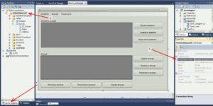Visual Studio соединение база данные