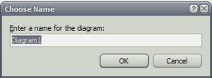 SQL Server диаграмма имя