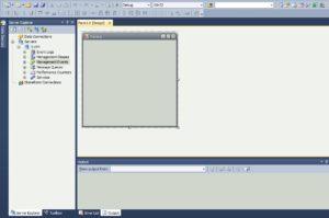C# Windows Forms Главная форма приложения