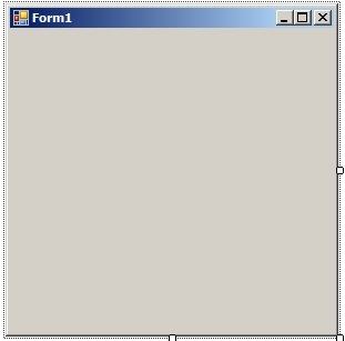 C# - Windows Forms. Пуста форма додатку