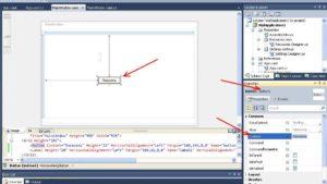 C# WPF Application Элемент управления Button