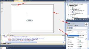 C# WPF Application заголовок программы