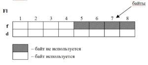 C++ объединение поля представление