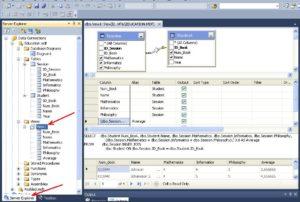 SQL Server Server Explorer представление