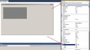 C#. Windows Forms. Властивість Size елементу управління dataGridView1