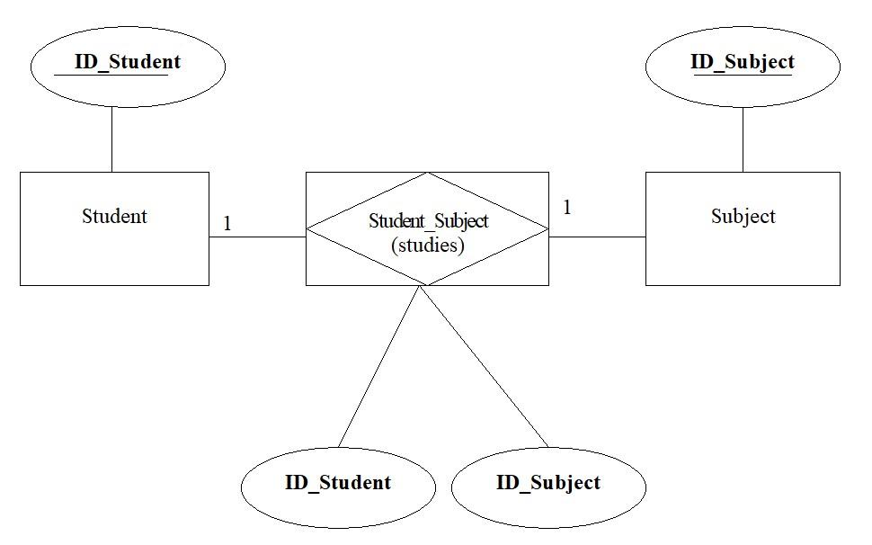 ER-model entity relationship