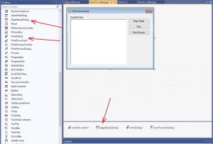 C#. Windows Forms. Controls PageSetupDialog, PrintDialog, PrintDocument, PrintPreviewDialog