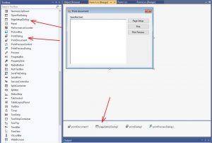 C#. Windows Forms. Елементи управління PageSetupDialog, PrintDialog, PrintDocument, PrintPreviewDialog