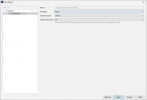 Kotlin. IntelliJ IDEA. Вікно налаштування додаткових опцій проекту
